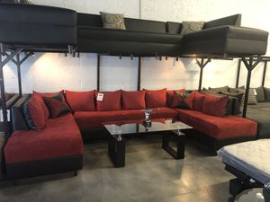 3 Piece Sectional Sofa - Other Colors Also Available for Sale in Hialeah, FL