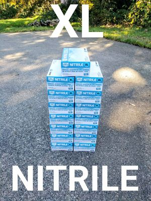 15 Boxes XL Nitrile Disposable Gloves for Sale in Tacoma, WA