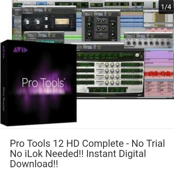 Pro Tools 12 HD Complete - No Trial No iLok Needed!! Instant Digital  Download for Sale in Chicago, IL - OfferUp