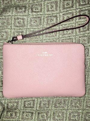 Photo Coach wristlet, pink
