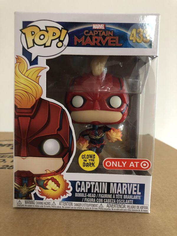 Pop with chase Captain Marvel Vinyl--Captain Marvel Vinyl Pop