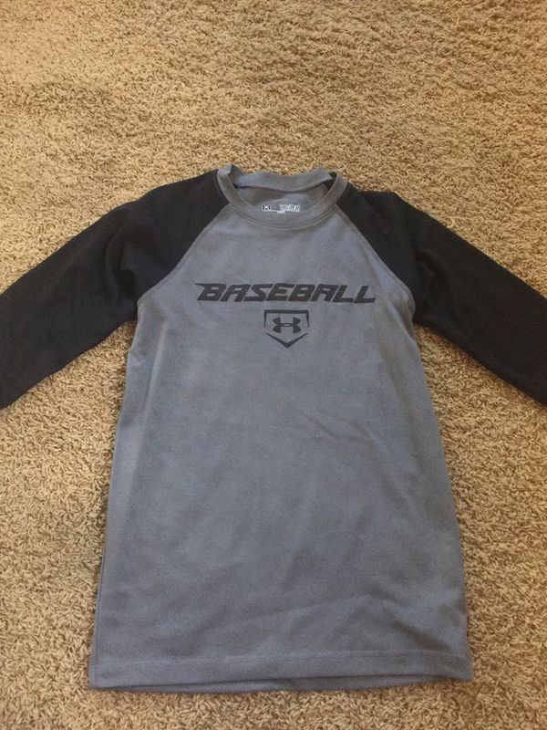 68e87efec57be1 Boys UnderArmour Dry Fit Baseball Shirt size Medium for Sale in ...