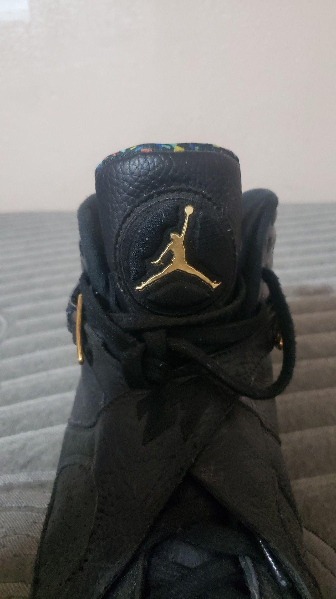 Jordan 8 champ pack confetti eights