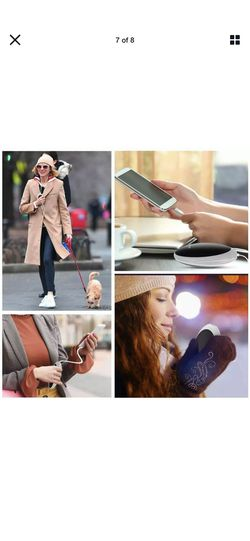 Rechargeable Hand Warmers Power Bank 5200mAh Electric Portable Pocket Hothands Thumbnail