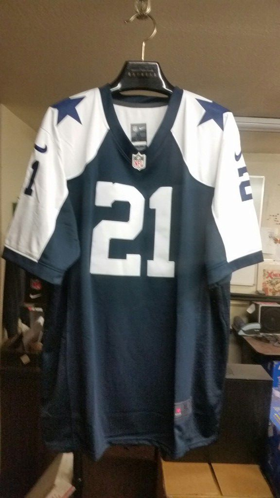 huge discount 3ef7b 2e4e6 Dallas Cowboys authentic Jersey Ezekiel Elliott fully stitched size XL for  Sale in Tempe, AZ - OfferUp