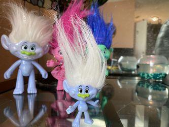 Trolls movie toy lot Thumbnail