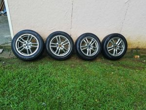 "16"" rims with tires 2005 subaru wrx for Sale in Dale City, VA"