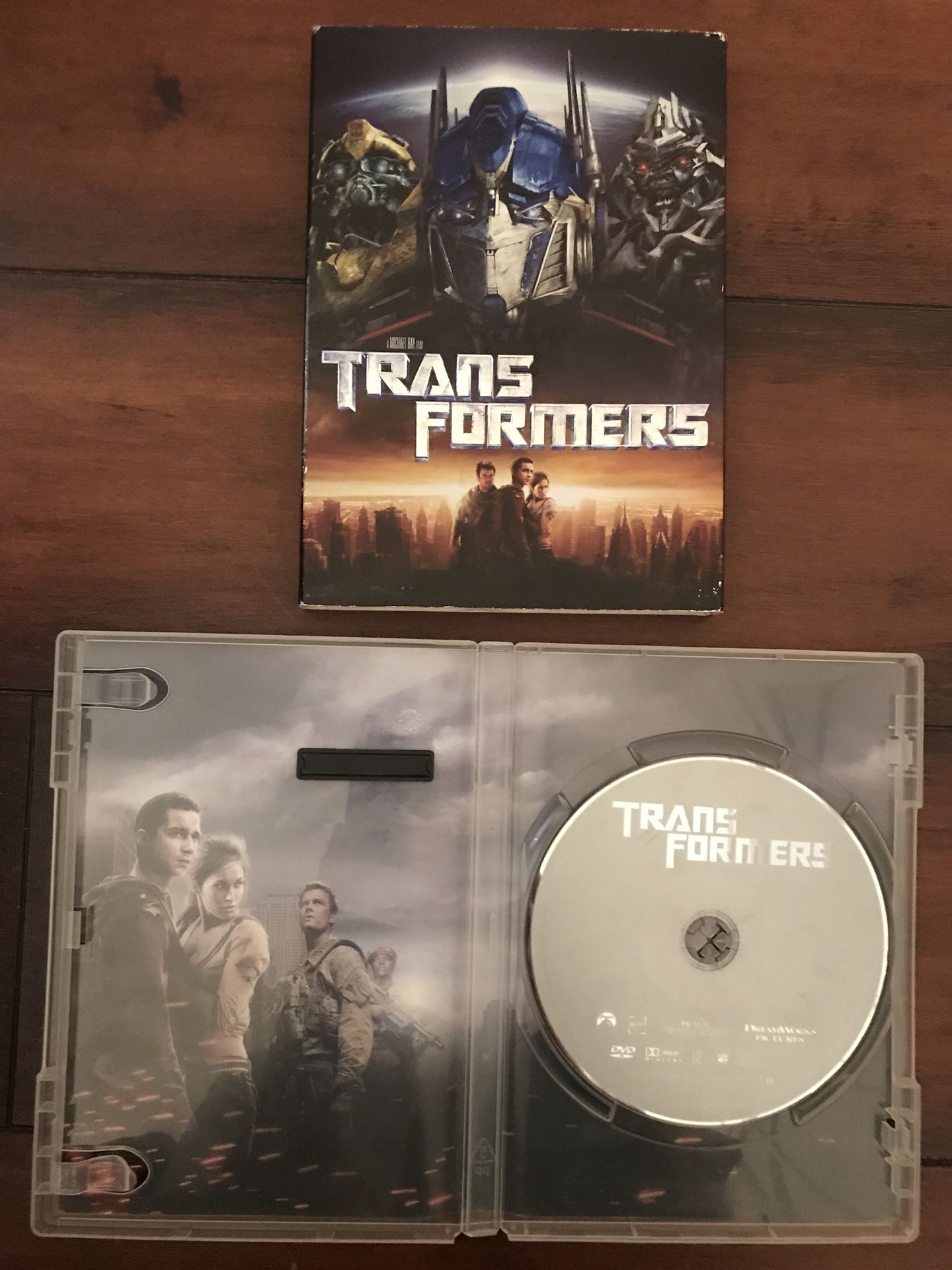 Transformers DVDs - 1st Four Movies