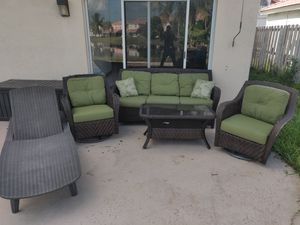 Outdoor furniture set with cushions for Sale in Plantation, FL