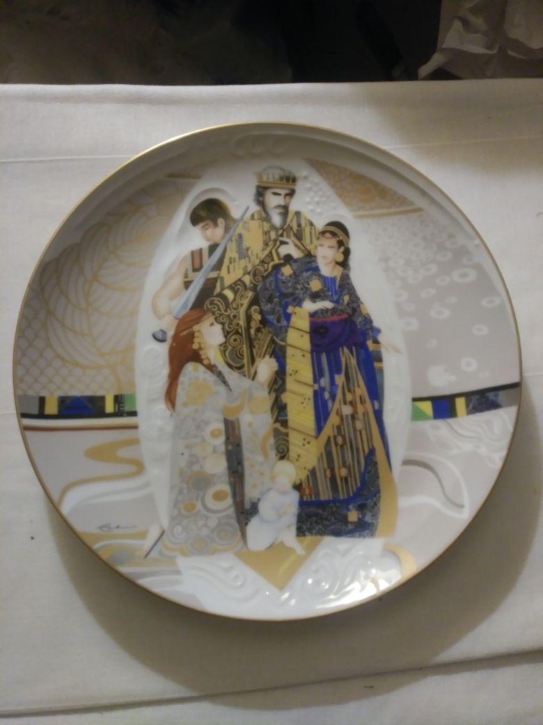 Plate, The Judgement of Solomon