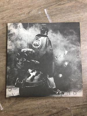 The Who Quadrophenia Vinyl