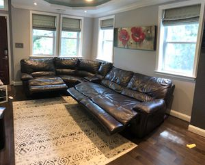 Sectional Power recliner couch for Sale in Washington, DC