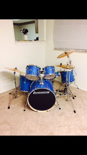 6 Piece Ludwig Drum Set Like New for Sale in Casselberry, FL