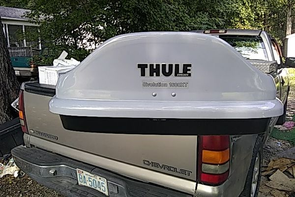 Thule Evolution 1600 >> Thule Evolution 1600xt Luggage Car Top Hauler For Sale In