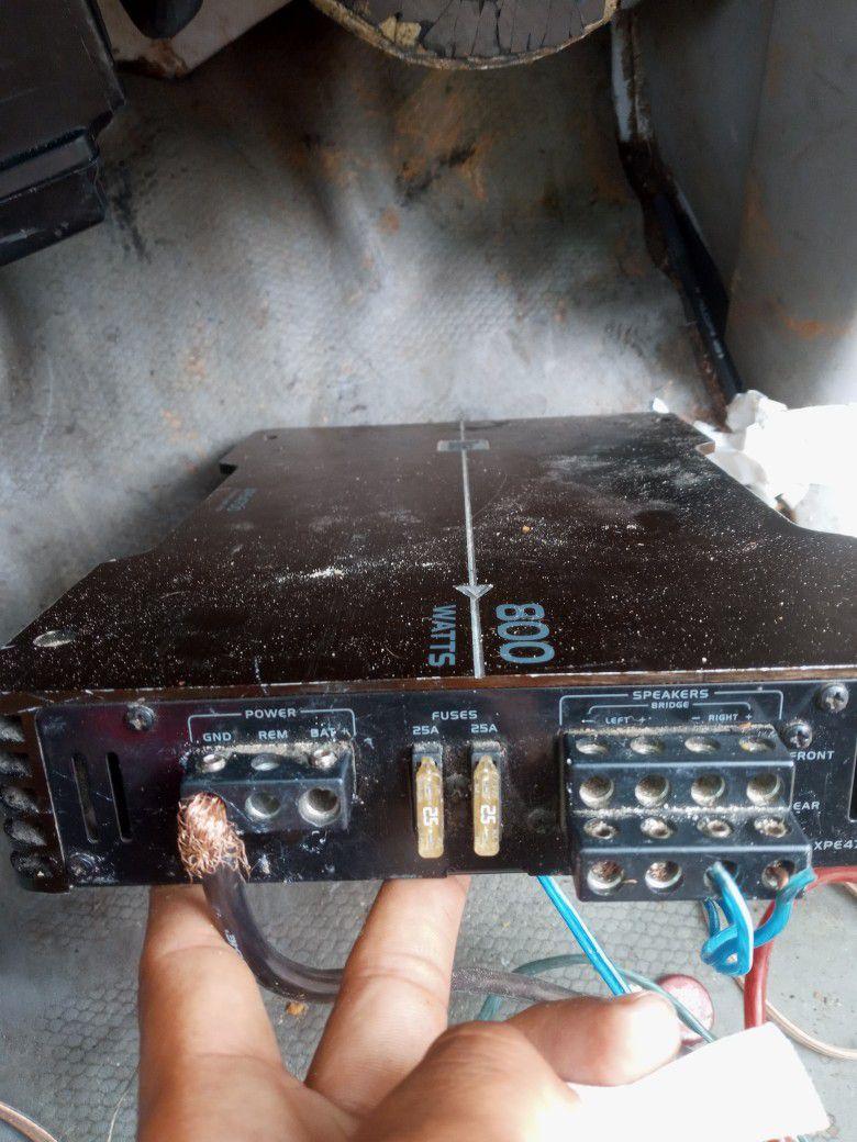 800 Watt Dual Amp