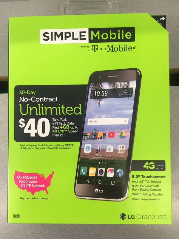 Brand New Simple Mobile Lg Grace 4g LTE for Sale in Savannah, GA - OfferUp