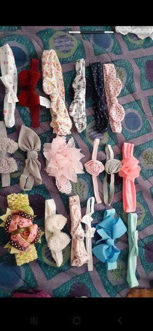 Photo Baby girl bows