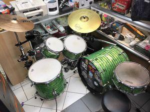 Evans 9 piece Drum Set with Gibraltar stand for Sale in Orlando, FL