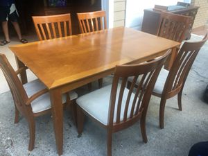 Table with 6 chairs for Sale in Roswell, GA