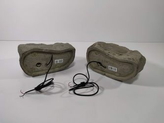 Insignia Outdoor Rock Speakers Thumbnail