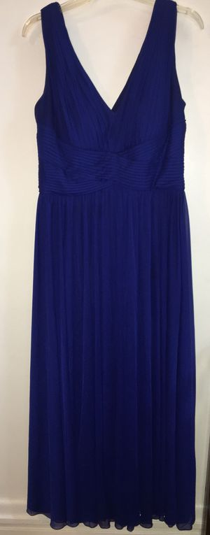 Mother-of-Bride Gown w/ Shawl (Navy, 14W) for Sale in Pittsburgh, PA