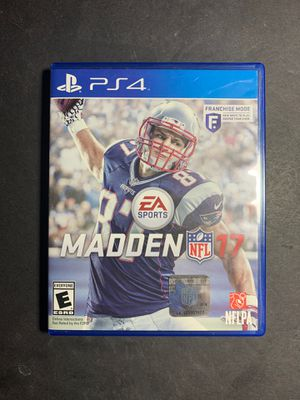 Photo PS4 Game: Madden NFL 17