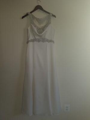 Wedding Dress color Ivory size 10 for Sale in Rockville, MD