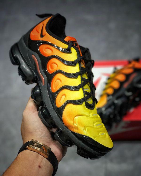 b279eb11248 Nike Air VaporMax Plus Black Orange Crimson for Sale in Arbutus