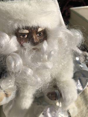 Black Santa tree topper for Sale in Fort Washington, MD