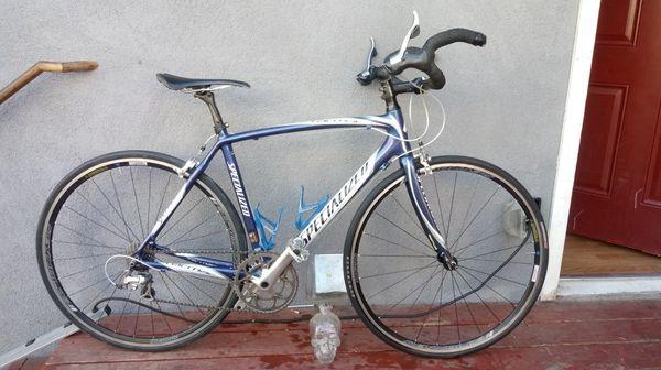 Specialized Tarmac Elite Hybrid Road Bike Carbon Fiber