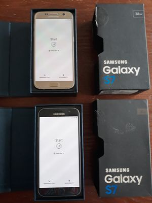 $300 ONLY FOR 2 SAMSUNG GALAXY S7 PHONES for Sale in Sudley Springs, VA