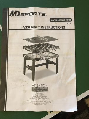 3 in 1 MD sports table. for Sale in Washington, DC