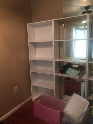free 4 bookshelves for Sale in Alexandria, VA