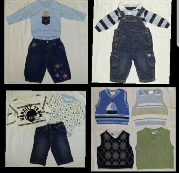 20c5cca3fdc6 LOT BUNDLE 20 BABY BOYS WINTER CLOTHES THE CHILDREN S PLACE CARTER ...