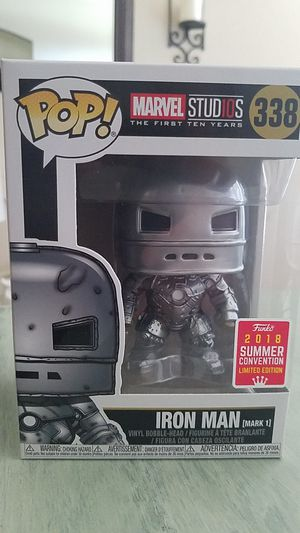 funko pop iron man 2018 summer convention for Sale in Sanger, CA
