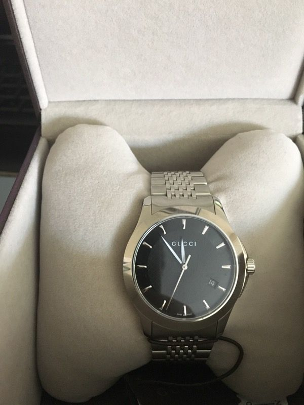d4386295258 Brand new men s Gucci watch. for Sale in San Jose