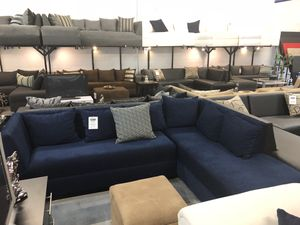 Blue Sectional Sofa for Sale in Hialeah, FL