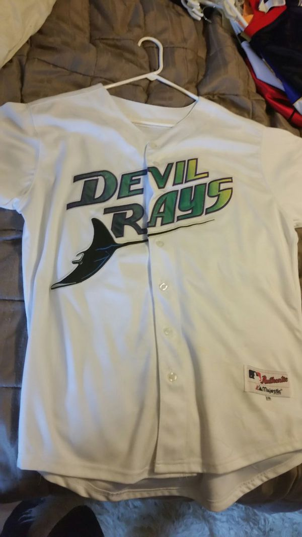 separation shoes 7a0b2 bcf68 Tampa Bay Devil rays Carl Crawford jersey for Sale in Palm Harbor, FL -  OfferUp