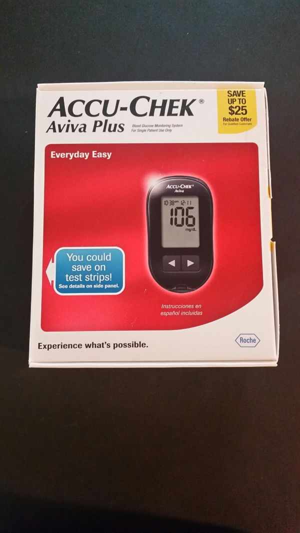Accu Chek Aviva Plus Blood Glucose Monitoring Sytem For Sale In