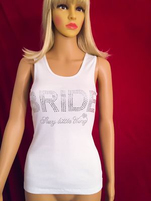 NEW with Tags! Victoria's Secret BRIDE Rhinestones Tank Top for Sale in Las Vegas, NV
