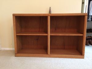 Wood bookshelves for Sale in Reston, VA