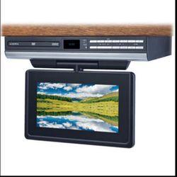 "Audiovox Space Saving Kitchen 9"" LCD TV+DVD and RADIO Thumbnail"