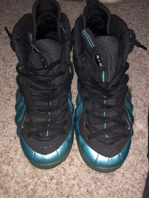 Nike Foamposite Electric Blue Size 13 for Sale in Gambrills, MD