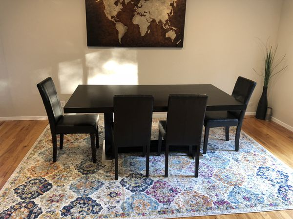 Scandinavian Designs Dining Table 4 Chairs