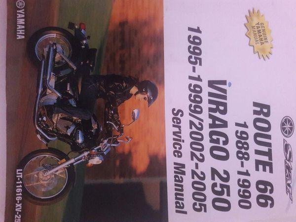 1999 yamaha virago 250 route 66 1988 1990 route 66 1995 2005 virago 250