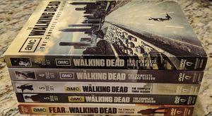 The Walking Dead Seasons 1-4/Fear The Walking Dead Season 1 DVD Set for Sale in Silver Spring, MD