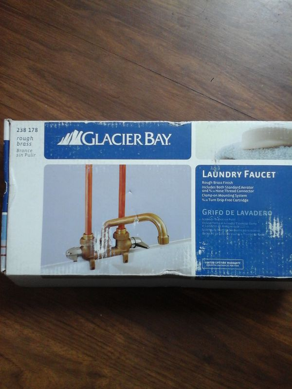 LAUNDRY ROOM FAUCET GLACIER BAY (Household) in Whittier, CA - OfferUp