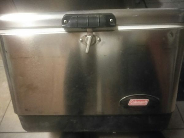 Coleman stainless steel cooler for Sale in Irwindale, CA - OfferUp