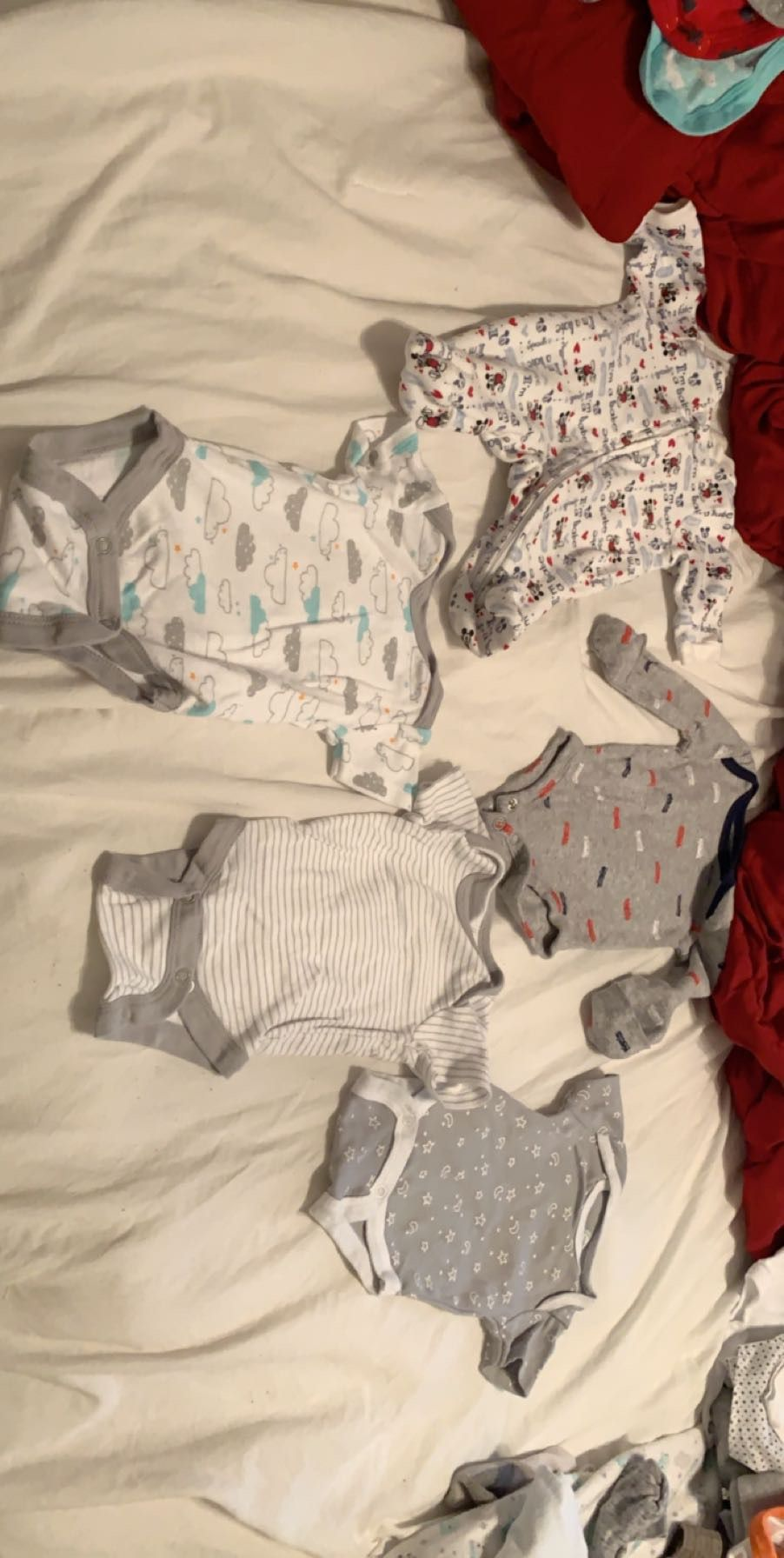 Selling nb baby clothes and more if you're interested hmu