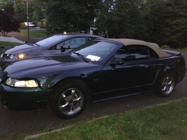 2000 mustang gt convertible manual transmission for sale in meriden ct offerup. Black Bedroom Furniture Sets. Home Design Ideas